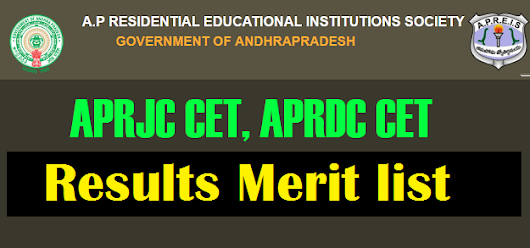 Manabadi APRJC CET, APRDC CET Results 2018 Rank cards download @ aprjdc.apcfss.in