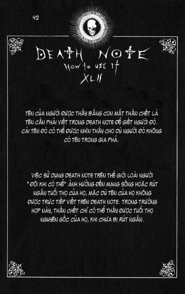 Death Note chapter 110 - how to use trang 45