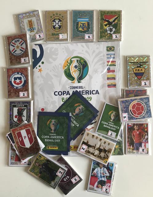 Album Copa America 2019 Panini