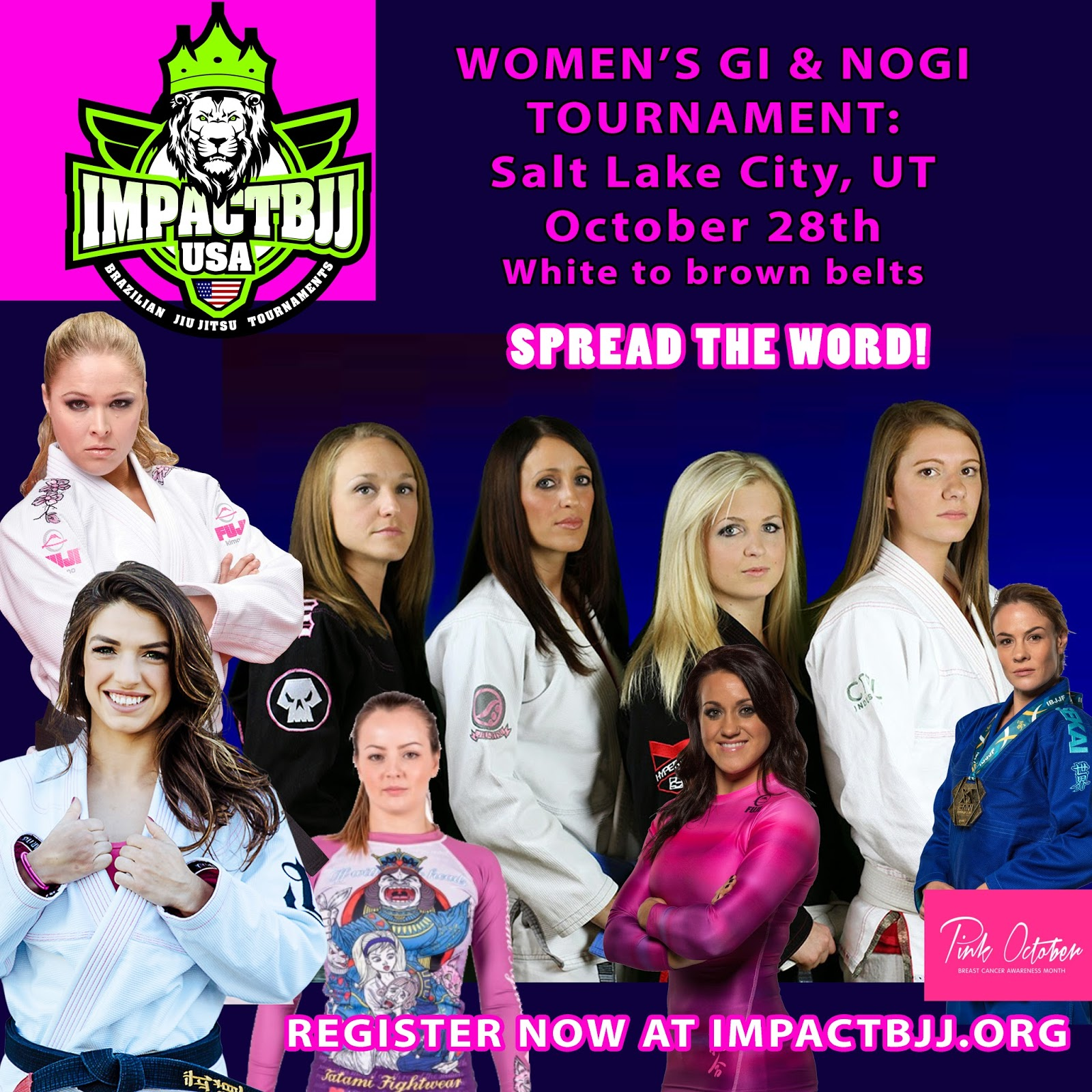 BJJ ONE NEWS: UT IMPACT Bjj Cup GI & NOGI Tournamet