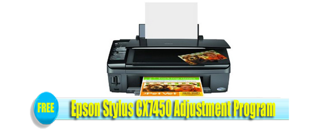 Epson Stylus CX7450 Adjustment Program