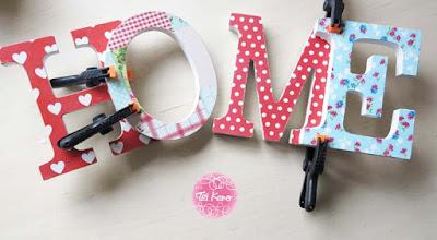 manualidades infantiles con letras de madera