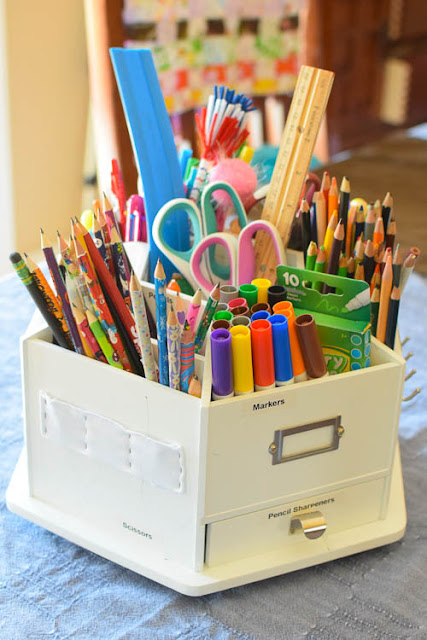 Top 10 Favorite Homeschool Supplies- Want your homeschool days to run smoothly?  These are our must haves for organization, storage, motivation, and efficiency.