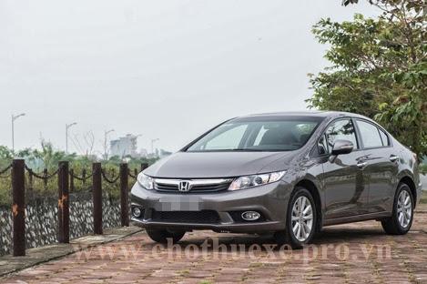 Cho thuê xe 4 chỗ Honda Civic 2