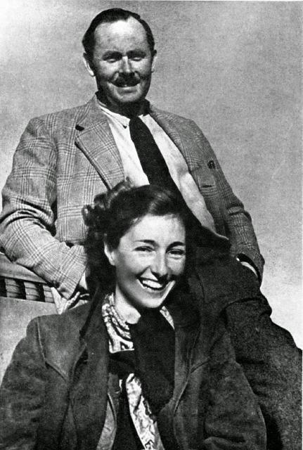Krystyna Skarbek i Andrzej Kowerski