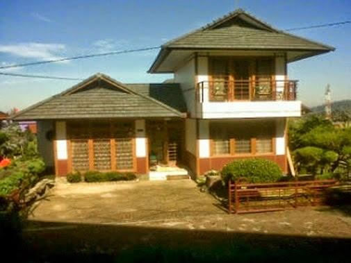 Villa Sakura istana bunga Lembang