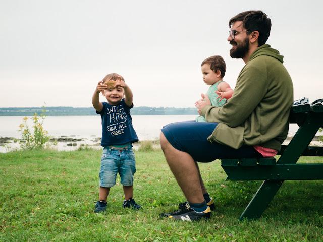 canadá con niños