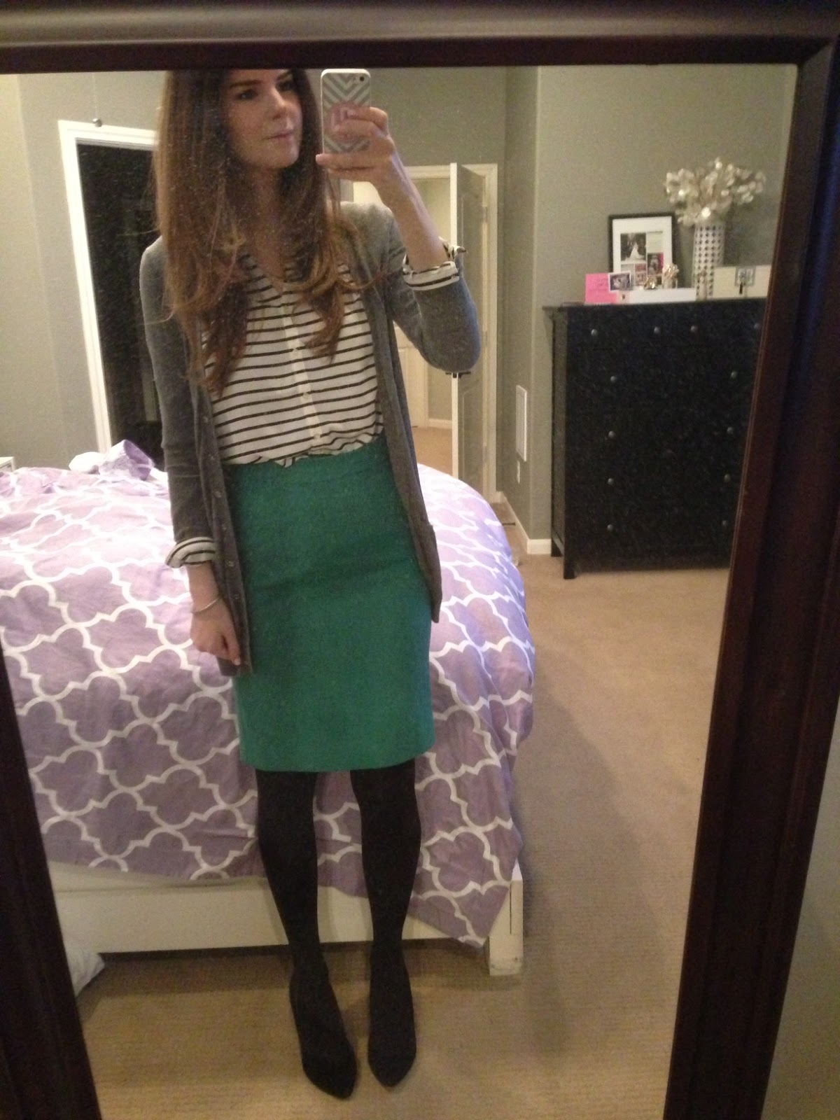 Maternity Pregnancy Pencil Skirt