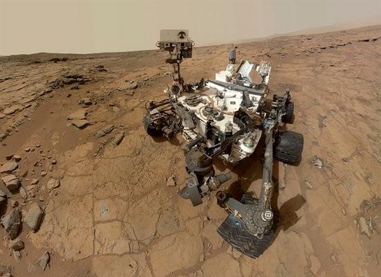 Tak Ada Metana di Planet Mars