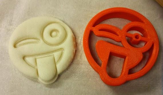 Emoji Party Ideas; emoji cookie cutter