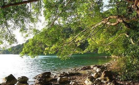 Letak Lokasi Danau Sano Nggoang