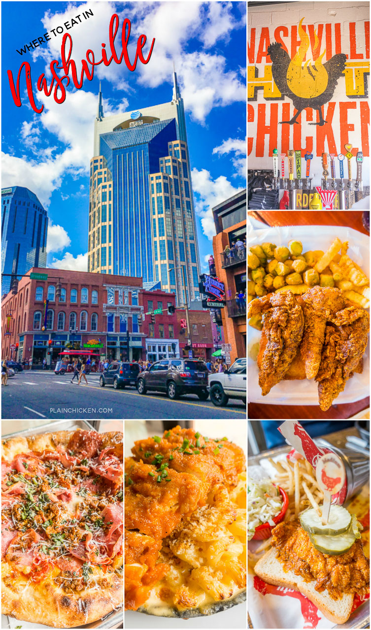 Nashville tn restaurants hot chicken and pizza plain for Best places for dinner in nashville