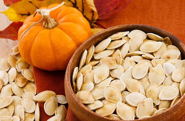 Pumpkin Seeds With Iron Magnesium And Zinc