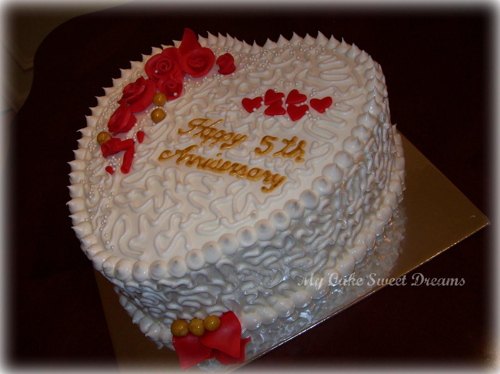Mycakesweetdreams Anniversary Cake