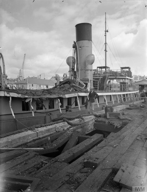 22 August 1940 worldwartwo.filminspector.com Millbay Docks Plymouth