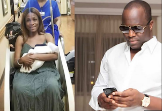 Linda Ikeji's Baby daddy impregnates another popular society lady, vows to never marry Linda