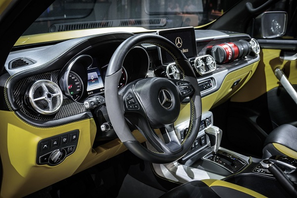 Interior Mercedes Benz Clase X Powerful Adventurer