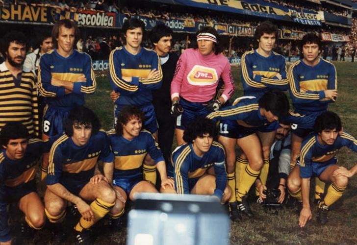 Pura historia futbolera: CAMPAÑA DE BOCA JUNIORS EN 1981