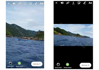 Cara Upload Video Ke Stories Instagram Tanpa terpotong