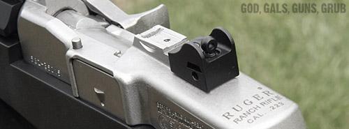 God, Gals, Guns, Grub: Ruger Mini-14 Tactical Rifle