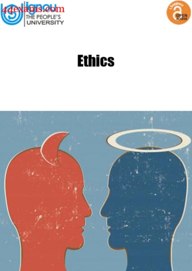 IGNOU Ethics : For UPSC Exam PDF Book