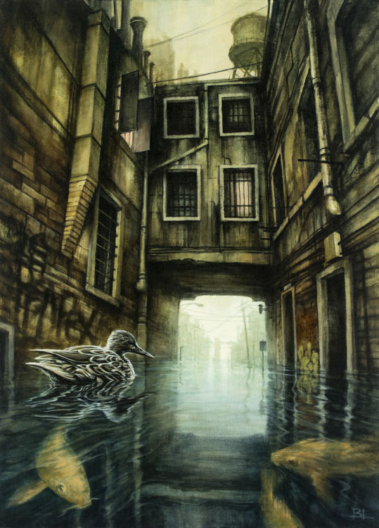 14-The-Overflow-Brin-Levinson-Paintings-of-Nature-Reclaiming-Cities-www-designstack-co