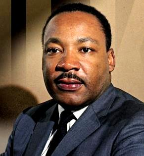 Imagen de Martin Luther King a color