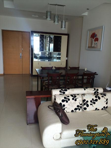 Phòng khách căn hộ The Flemington