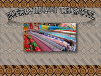 Macam Macam Kerajinan Tekstil Khas Indonesia