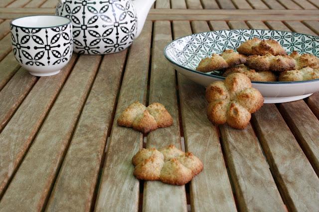 Galletas de naranaja y espelta para el desayuno o la merienda