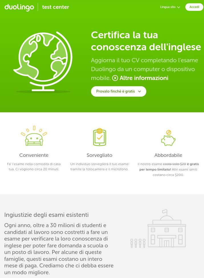 CERTIFICAZIONE low cost della LINGUA INGLESE - Moira Tips Booking