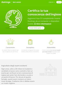 CERTIFICAZIONE low cost della LINGUA INGLESE