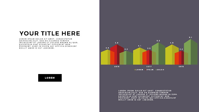 Free Infographic PowerPoint Template with Editable Data chart Slide 9