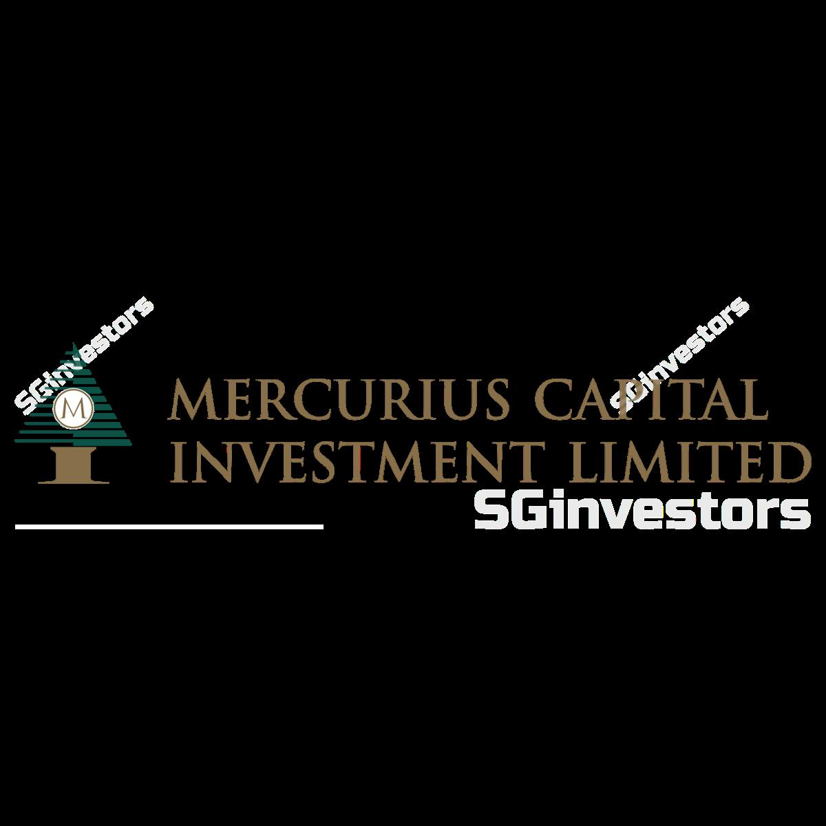 MERCURIUS CAP INVESTMENT LTD (SGX:5RF) @ SGinvestors.io