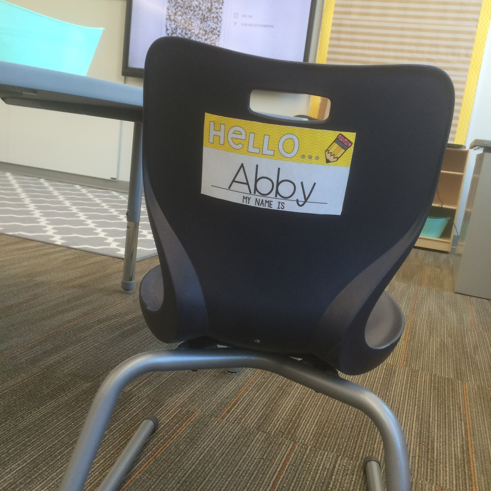 Amazing Name Tags For Student Chairs Falling Into First Beutiful Home Inspiration Truamahrainfo