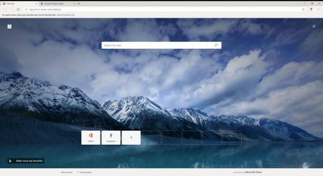 متصفح مايكروسوفت الجديد القائم على Chromium