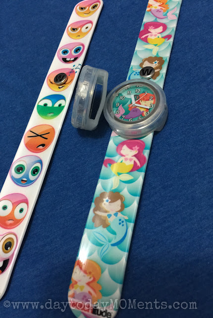 Watchitude kids slap band watches