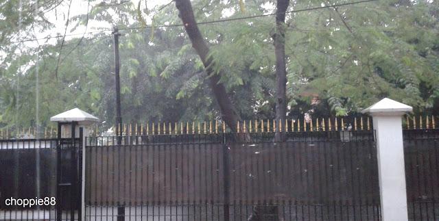 Jakarta di Guyur Hujan