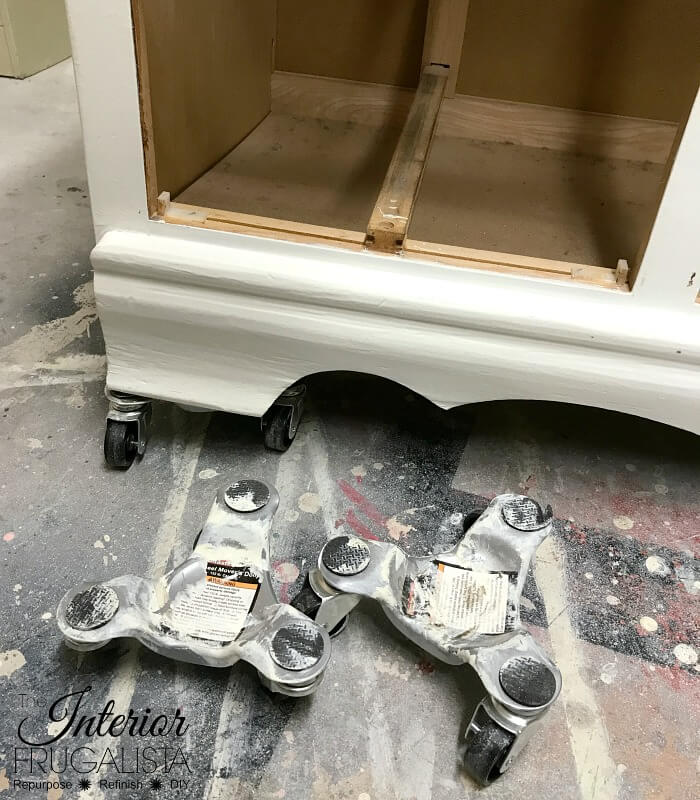 Raise Furniture To Prep For Chalk Paint