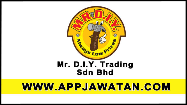 logo Mr. D.I.Y. Trading Sdn Bhd