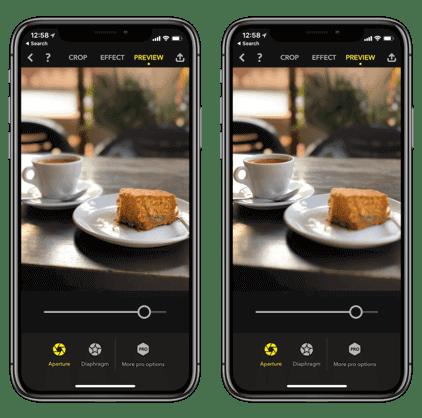 تطبيق Focus,iphone x