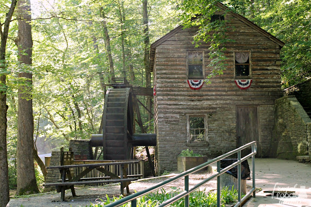 The Lenoir Museum Cultural Complex also includes the Rice Gristmill that was originally built in 1798 & then dismantled & reconstructed in 1935 where it stands today at the head of the Clear Creek trail.