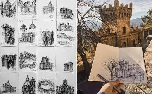 00-Giuliana-Flavia-Cangelosi-Architecture-Drawings-www-designstack-co