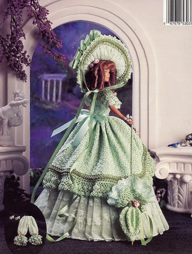 Pointgram Crochet Dresses For Barbie Doll Paradise
