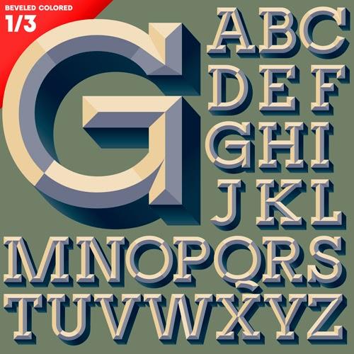 Creative Vector Alphabet