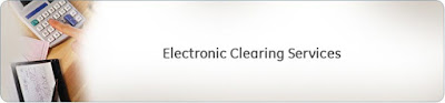 Electronic clearing service