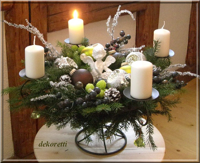 dekoretti s welt einen sch nen 1 advent. Black Bedroom Furniture Sets. Home Design Ideas