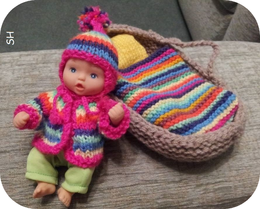 Crafting For Shoeboxes Crib Or Moses Basket For A Mini Baby Doll