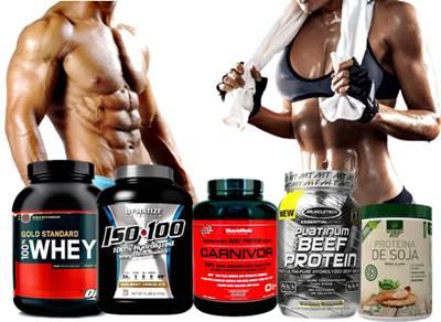 Ejemplos de suplementos de proteína en polvo para tomar al hacer ejercicio