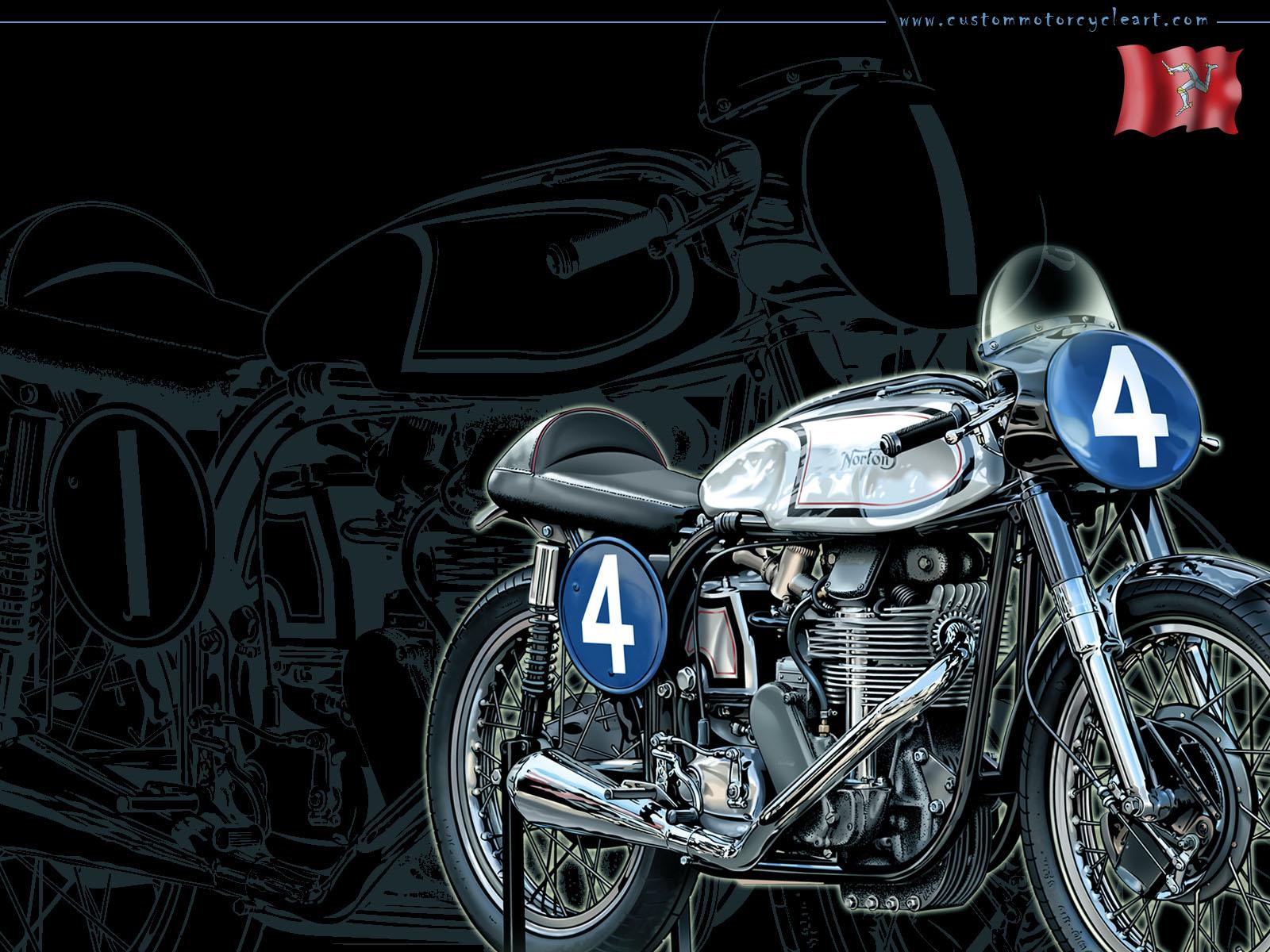 Racing Cafè: Motorcycle Art - Gaston Vanzet